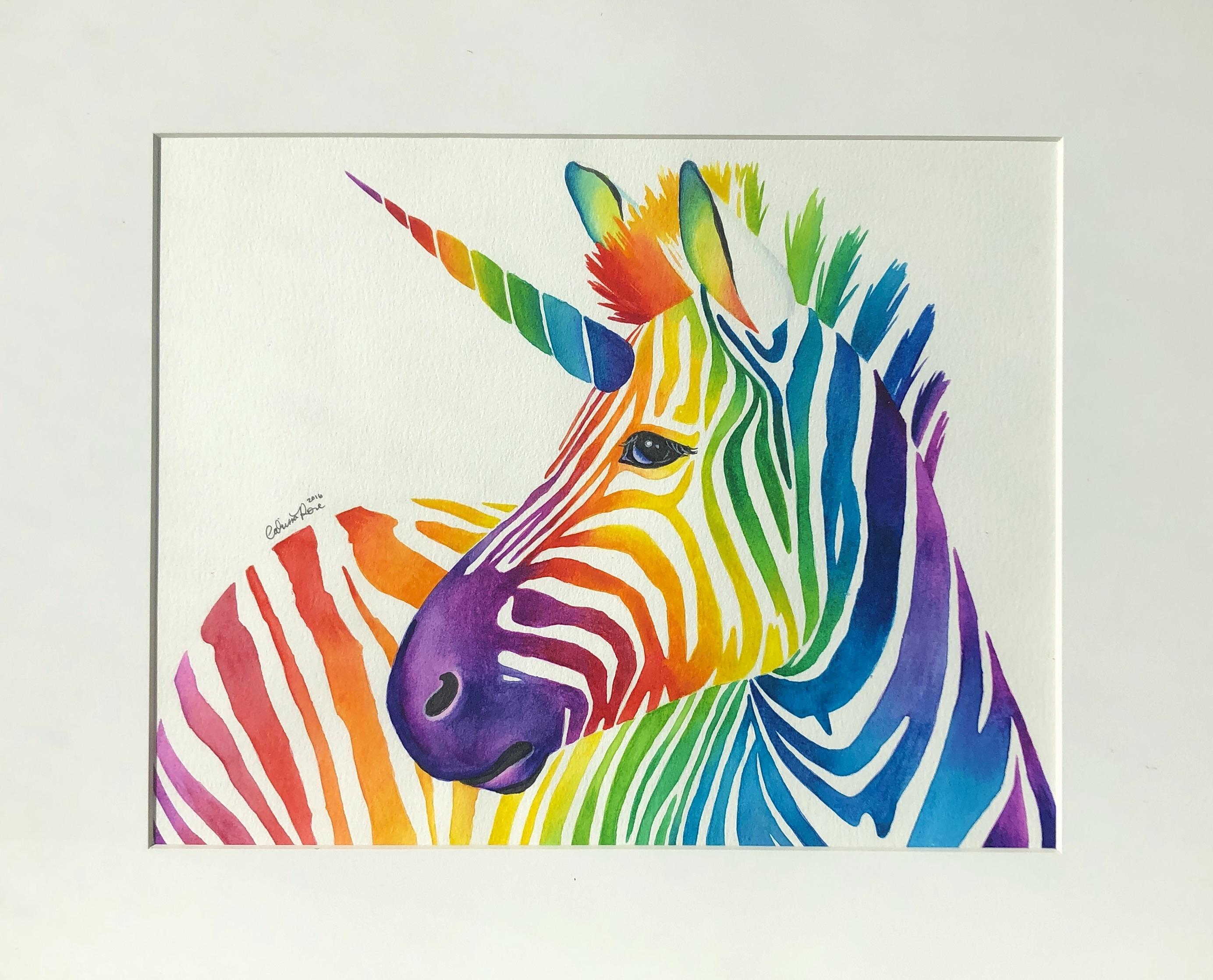 Zebra gift from my kids