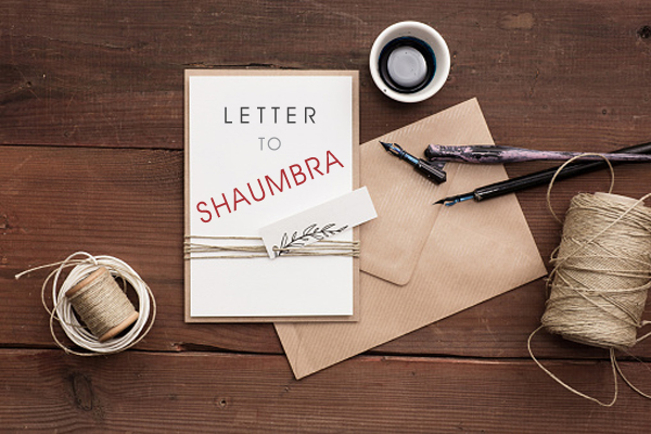 Letter to Shaumbra