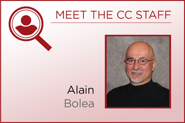 Meet the Staff - Alain Bolea