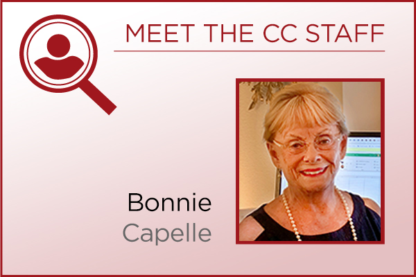 Meet the Staff - Bonnie Capelle