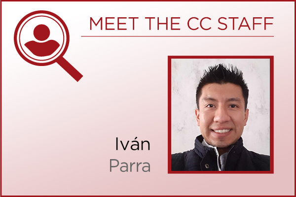 Meet the Staff - Iván Parra