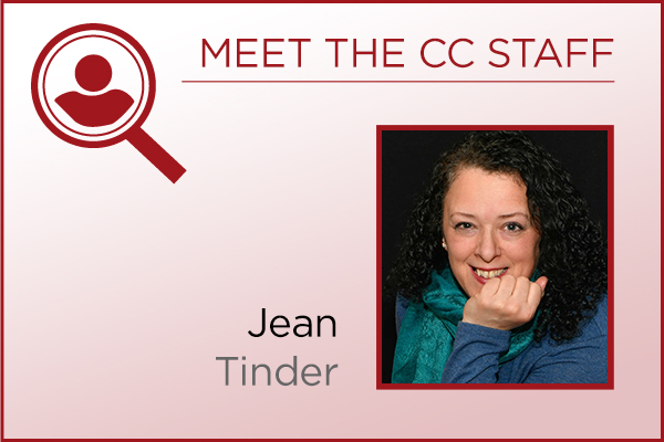 Meet the Staff - Jean Tinder