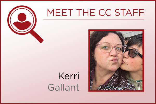 Meet the Staff - Kerri Gallant