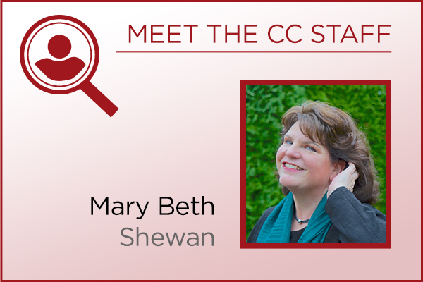 Meet the Staff - Mary Beth Shewan