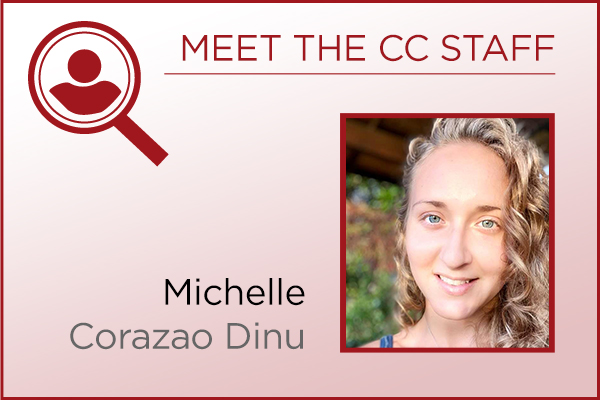 Meet the Staff - Michelle Corazao Dinu