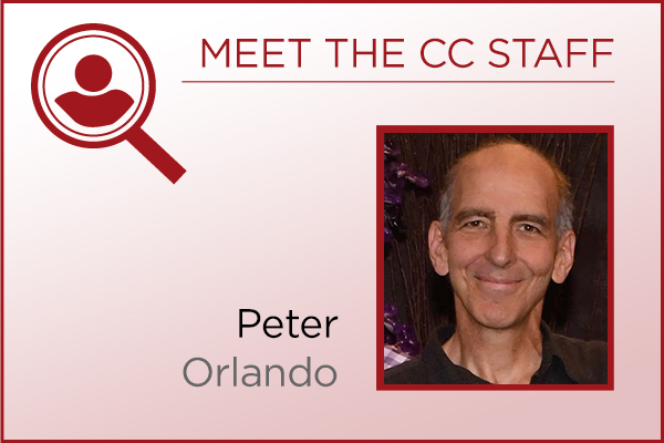 Meet the Staff - Peter Orlando