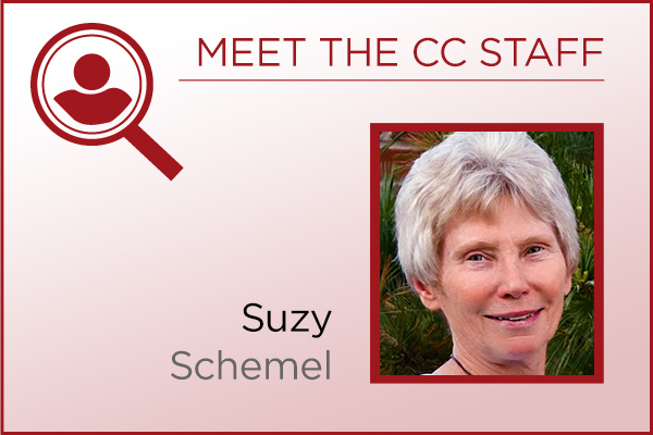 Meet the Staff - Suzy Schemel