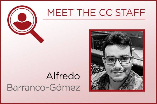 Meet the Staff - Alfredo Barranco-Gómez