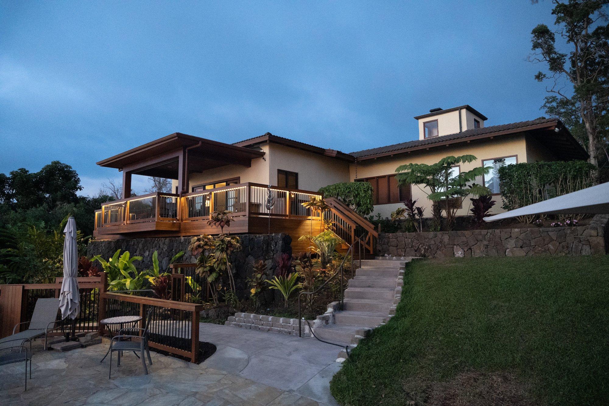 Evening Villa